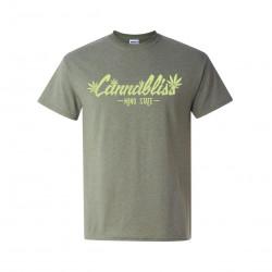 Cannabis Branded Cannabliss Short Sleeve T-Shirt