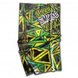 Cannabis Branded Buff - Jamacian Flag Colours