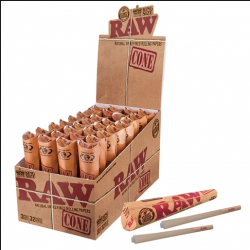Raw Pre-Rolled Cones